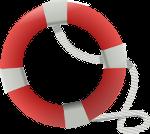 Symbolisches Bild eines Rettungsrings